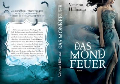 Cover Das Mondfeuer - Vanessa Hillmann